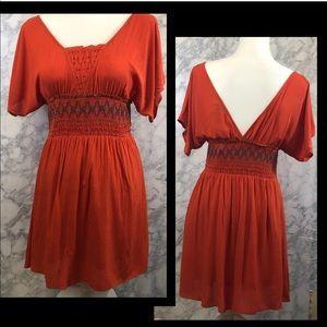 NWT Orange Soieblu Dress